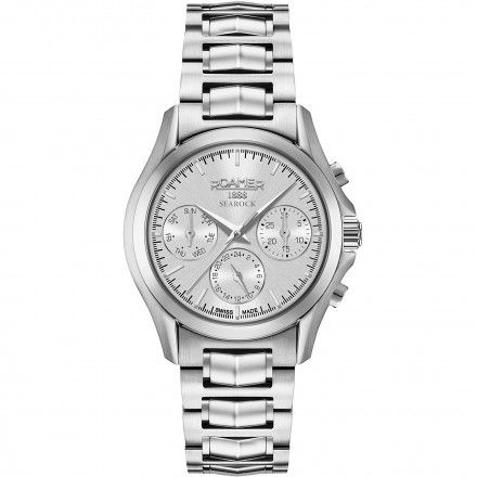 Roamer 203901 41 15 20 Zegarek Swiss Searock Ladies Multifunction
