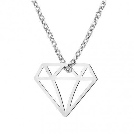 Biżuteria damska INFINITY BTNK0055 Naszyjnik srebrny