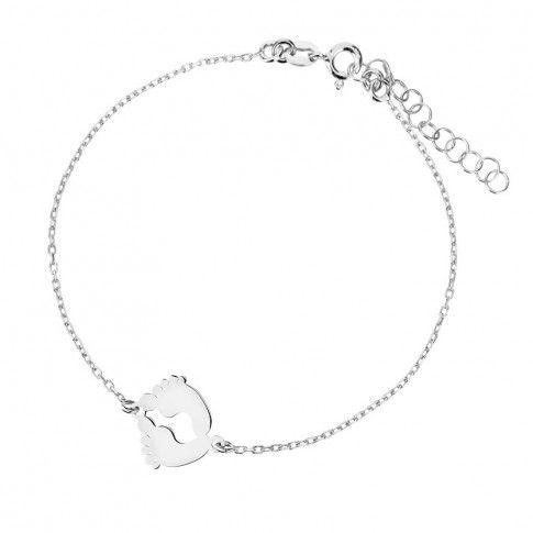 fcb1027434 Biżuteria damska INFINITY MABK0019 Bransoletka srebrna - 56