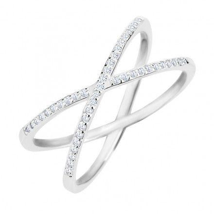 Biżuteria damska INFINITY DAPZ0007 Pierścionek srebrny r.13