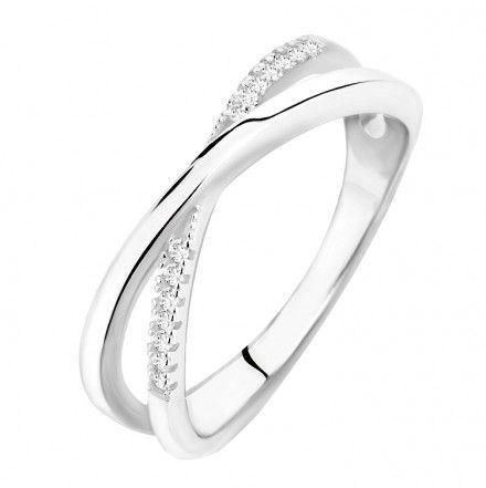 Biżuteria damska INFINITY DAPZ0005 Pierścionek srebrny r. 11