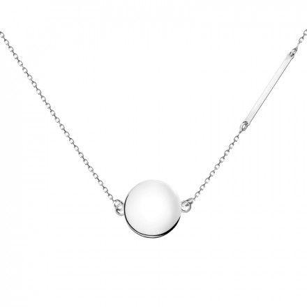 Biżuteria damska INFINITY BTNZ6001 Naszyjnik srebrny