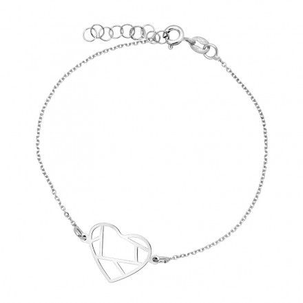 Biżuteria damska INFINITY BTBK0091 Bransoletka srebrna