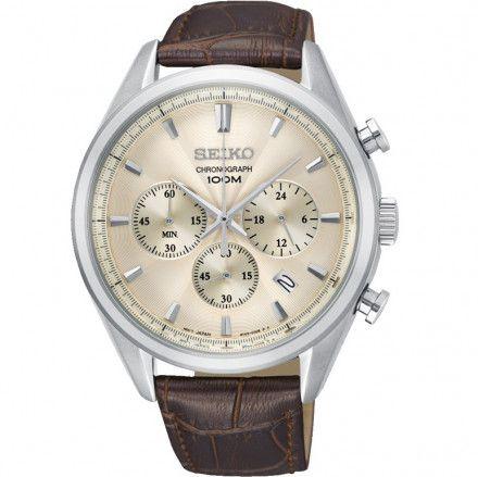 Seiko SSB293P1 Zegarek Męski Classic Chronograph