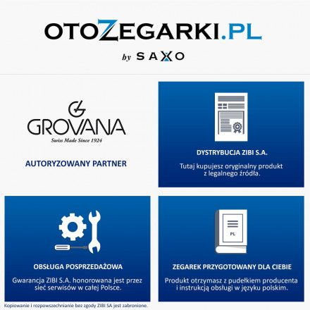 Zegarek Grovana GV1711.1537 Traditional 1711.1537