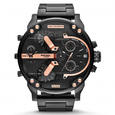 Diesel DZ7312 Zegarek Męski Na Bransolecie Z Kolekcji Mr Daddy