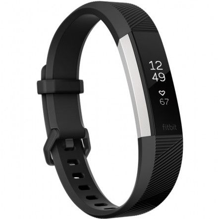 Monitor Aktywności Fitbit ALTA HR - FB408SBKL-EU - Rozmiar L