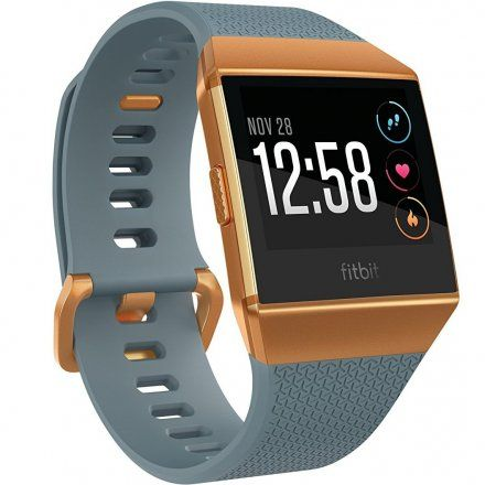 Monitor Aktywności Fitbit iONIC - FB503CPBU-EU Slate Blue/Burnt Orange