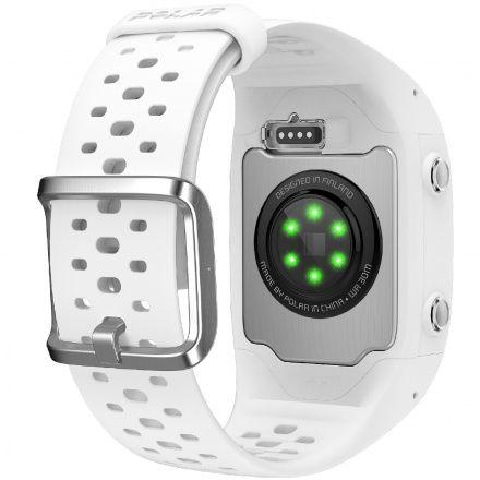 POLAR M430 (S) Biały zegarek do biegania z GPS