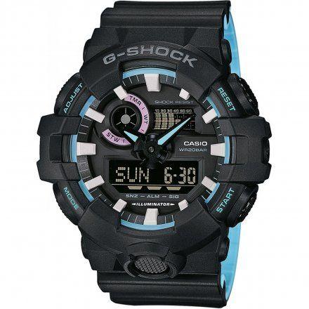 Zegarek Casio GA-700PC-1AER G-Shock GA 700PC 1AER