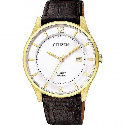Citizen BD0043-08B Zegarek Męski na pasku Citizen Classic