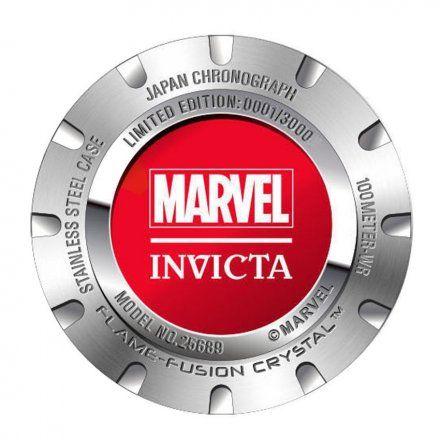 Invicta IN25689 Zegarek męski Invicta Marvel Spiderman 25689