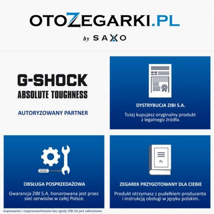 Zegarek Casio GST-B100D-1AER G-Shock GST-B100D 1AER