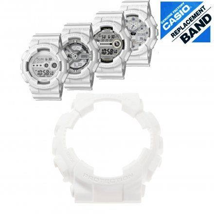 Bezel 10410778 do Casio GD-100WW-7 GA-100 GA-110 GD-100 biały matowy