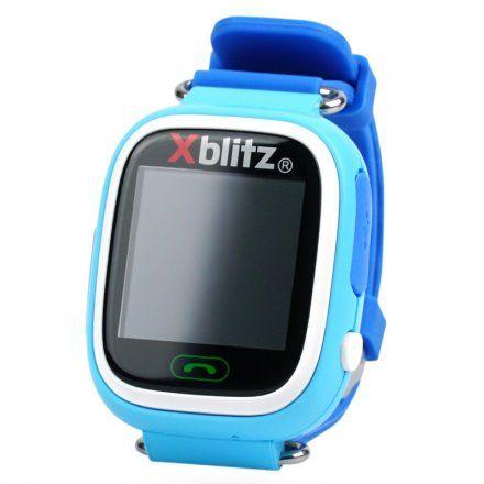 Zegarek dziecięcy Xblitz GPS-Love Me Niebieski