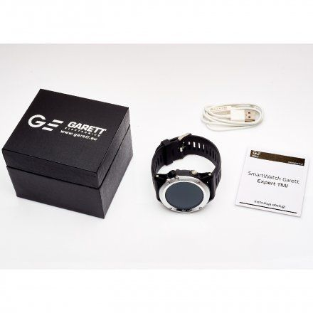 Smartwatch Garett Expert 11W Srebrny