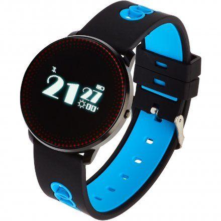 Smartwatch Garett Sport14 Czarno-Niebieski