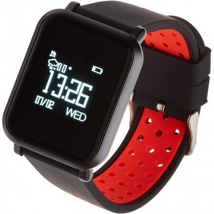 Smartwatch Garett Sport17 Czarno-Czerwony