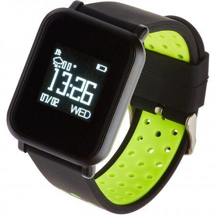 Smartwatch Garett Sport17 Czarno-Zielony