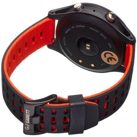 Smartwatch Garett Sport25 Gps Czarno-Czerwony