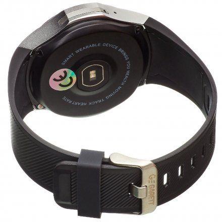 Smartwatch Garett Multi3 Czarno-Srebrny