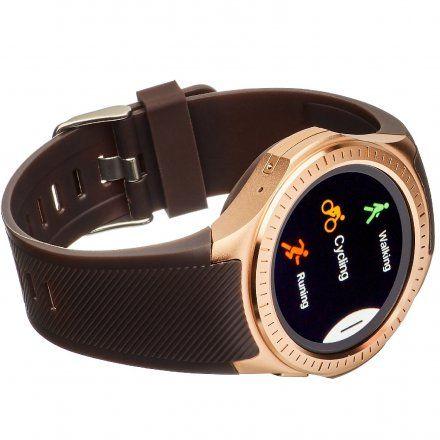 Smartwatch Garett Multi3 Brązowo-Złoty