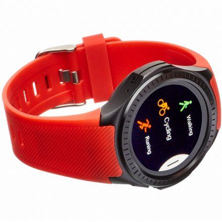 Smartwatch Garett Multi3 Czerwono-Czarny