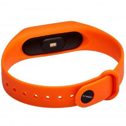 Opaska Sportowa, Smartband Garett Fit7 Pomarańczowa