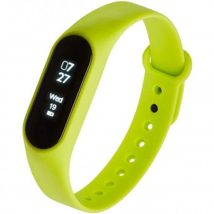 Opaska Sportowa, Smartband Garett Fit7 Zielona