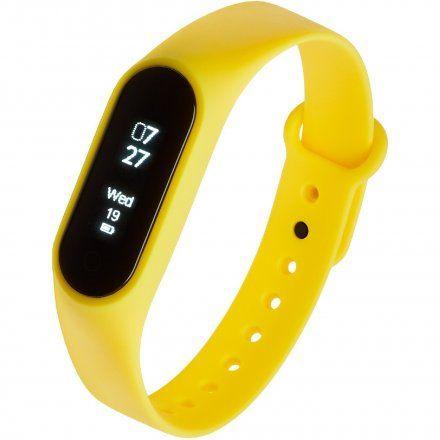 Opaska Sportowa, Smartband Garett Fit7 Żółta