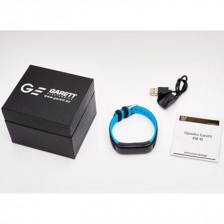 Opaska Sportowa, Smartband Garett Fit11 Niebieska