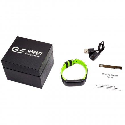 Opaska Sportowa, Smartband Garett Fit11 Zielona