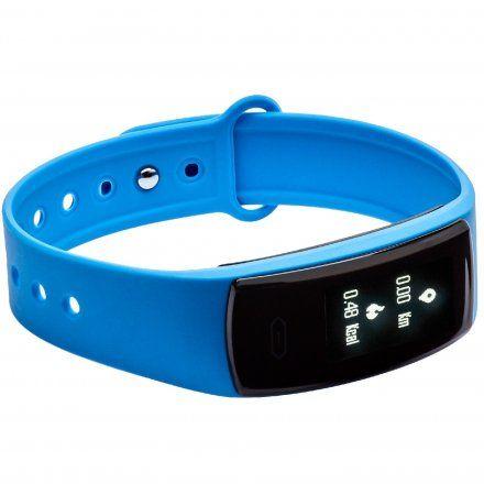 Opaska Sportowa, Smartband Garett Fit13 Błękitna