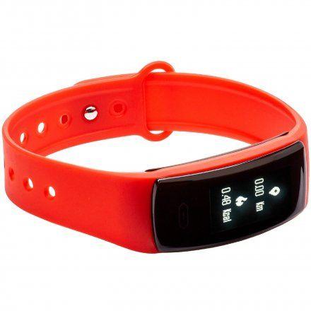 Opaska Sportowa, Smartband Garett Fit13 Czerwona