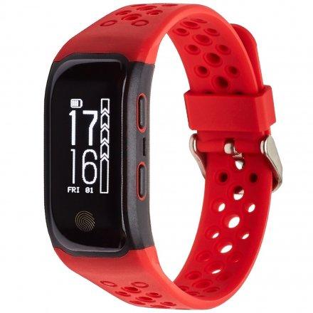 Opaska Sportowa, Smartband Garett Fit20 Gps Czerwona