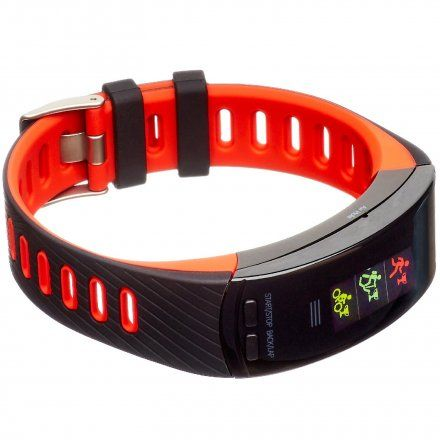 Opaska Sportowa, Smartband Garett Fit23 Gps Czarno-Czerwona