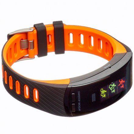 Opaska Sportowa, Smartband Garett Fit23 Gps Czarno-Pomarańczowa