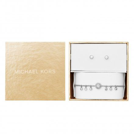 Biżuteria Michael Kors - Bransoleta MKJ6896040 + Kolczyki