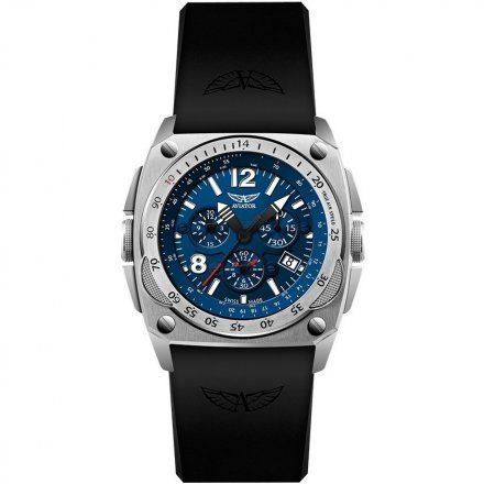 Zegarek Męski Aviator M.2.04.0.071.6 MIG-29 Chrono