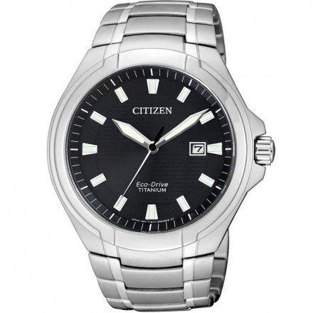 Citizen BM7430-89E Zegarek Męski Citizen Eco-DriveTitanum BM7430 89E