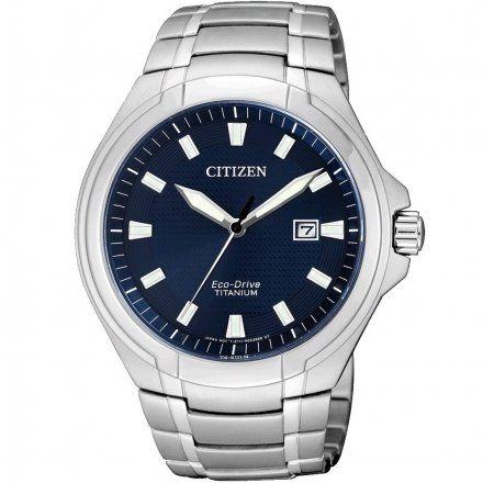 Citizen BM7430-89L Zegarek Męski Citizen Eco-DriveTitanum BM7430 89L