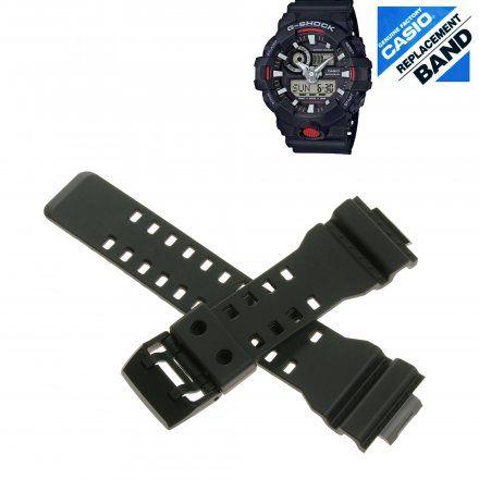 Pasek 10536683 Do Zegarka Casio Model GA-700 czarny