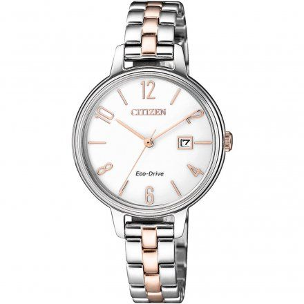 Citizen EW2446-81A Zegarek Damski Citizen Eco-Drive EW2446 81A