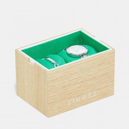 Zegarek Esprit ES1L018M0015 Komplet Zegarek + Bransoletka