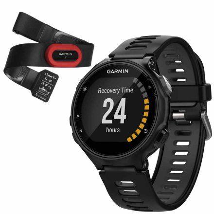 GARMIN Zegarek Forerunner 735XT HRM-Run czarno-szary 010-01614-15