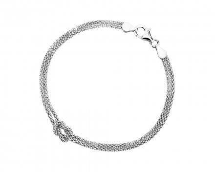 Biżuteria damska INFINITY NPBZ0049 Bransoletka srebrna