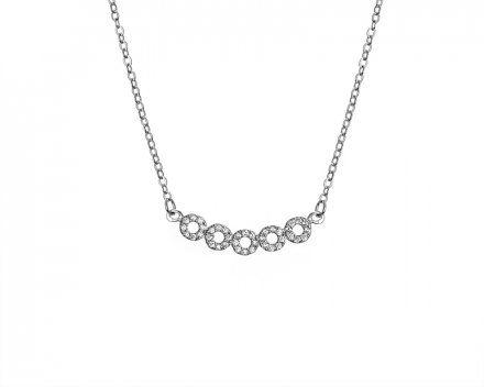 Biżuteria damska INFINITY SGNZ0011 Naszyjnik srebrny