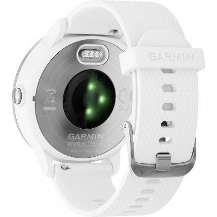 GARMIN Zegarek vivoactive 3 z białym paskiem 010-01769-22
