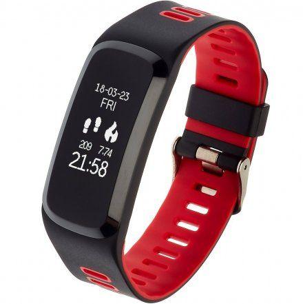 Opaska Sportowa, Smartband Garett Fit15 Czerwona