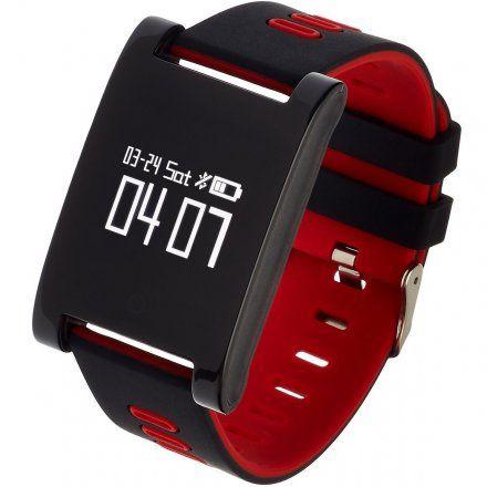 Smartwatch Garett Sport7 Czarno-Czerwony